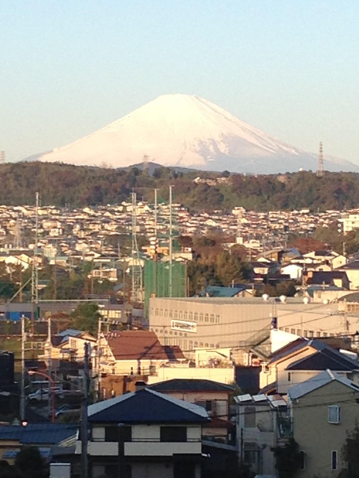 富士山一望!!